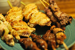([puamelia]) Tags: food 50mm yakitori d60