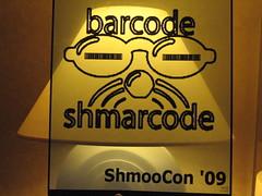Barcode Contest (joncallas) Tags: barcode shmoocon shmoo shmarcode