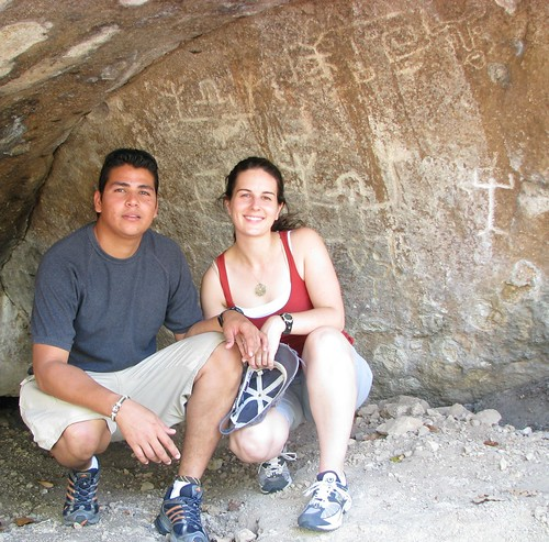 Petroglyphs at Don and Babe's