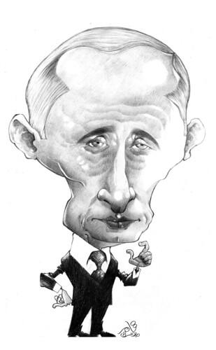 Vladimir Putin by Tamer Youssef by Tamer Youssef.