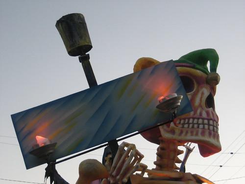DEtat Skeleton Flambeaux