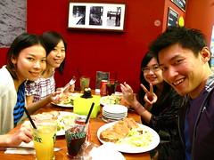 Joey, me, Dengli, Tien-yao