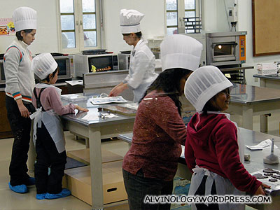 Pastry and bakery lessons for kids