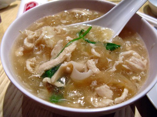 Seafood soup 海鲜羹