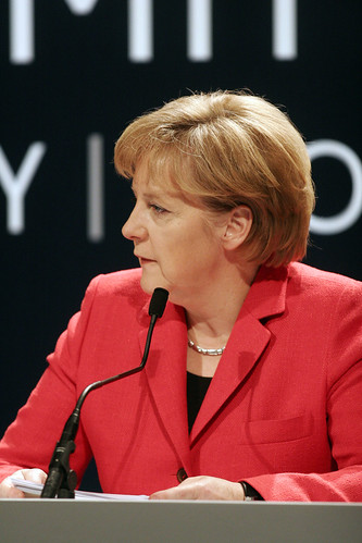Chancellor Of Germany. Dr Angela Merkel, Chancellor
