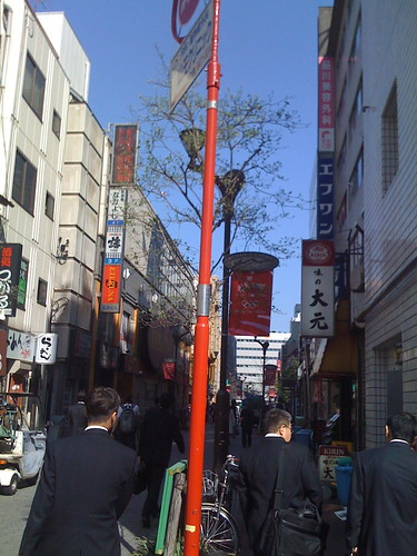 Random Street near Shinagawa station
