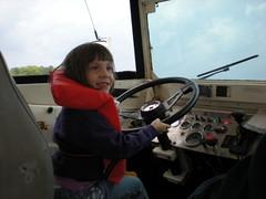22 - Sophie Steering the Duck