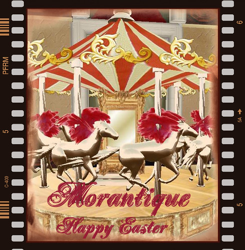 happy easter from morantique<3