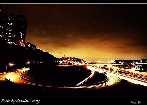 關渡橋夜景