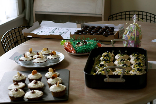 Easter and the Cupcake Bake Off