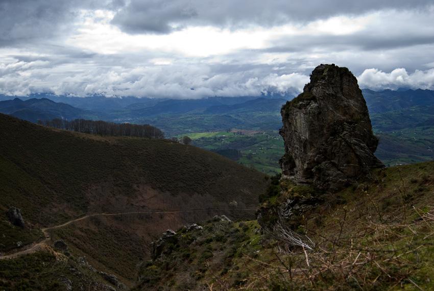 Subiendo desde Villar de la Cuesta