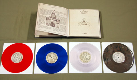 "Thrice Alchemy Index Vinyl Repress ""alchemy Index"" Vinyl Box"