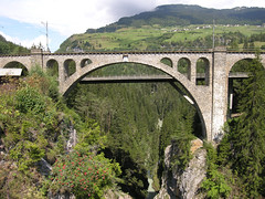 20060809_042 (Shigeyama) Tags: switzerland glacierexpress archbridge grisons tiefencastel thusis solisviaduct
