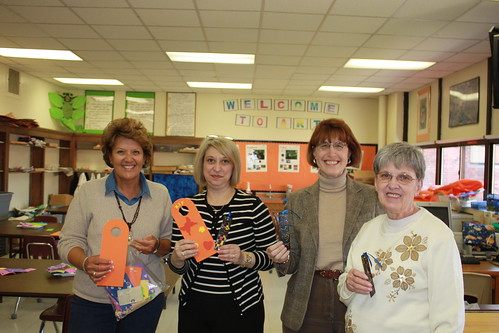 Kathy, Lisa, Cynthia and Charlotte