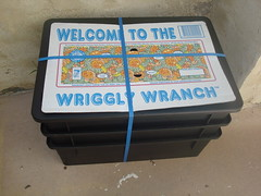 The Wriggly Wranch! (jlgrant) Tags: garden worms composting