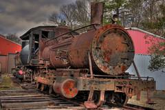 Winner (scottnj) Tags: train antique engine rusty competition winner locomotive crusty hdr ghosttrain winnerwinnerchickendinner flickraward rustylocomotive scottnj