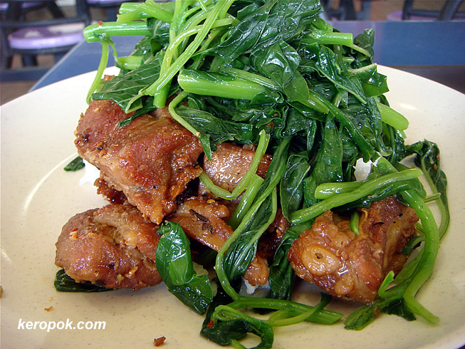 Pork with Green Veggies