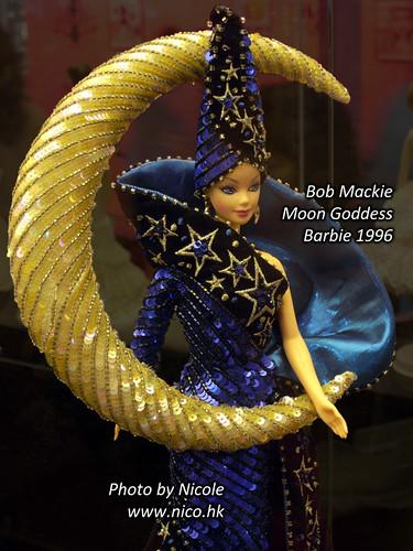 Bob Mackie Moon Goddess Barbie 1996