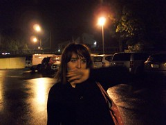 wave away (Mindsay Mohan) Tags: friends boy man cars girl up rain closeup female night portraits evening hands parkinglot close cigarette smoke straw objects smoking cups automobiles dunkindonuts
