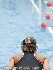 0905027619 (Kostas Kolokythas Photography) Tags: water women greece polo 2009 patras vouliagmeni       1