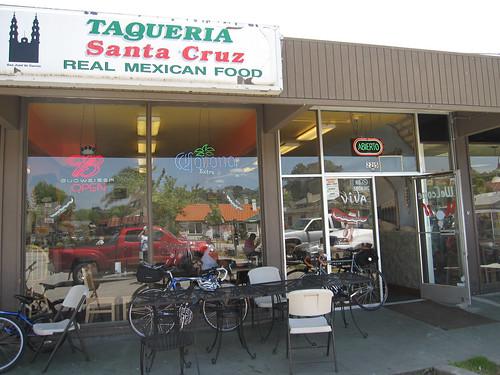 Lunch at Santa Cruz