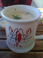 Old Port Lobster Shack in Redwood City - Clam chowder