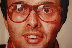 Amazing. (tokyohanna) Tags: painting chuckclose tumble metropolitanmuseumofart hyperrealism