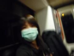 在救護車內