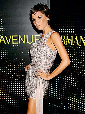 Emporio Armani swarovski beaded minidress