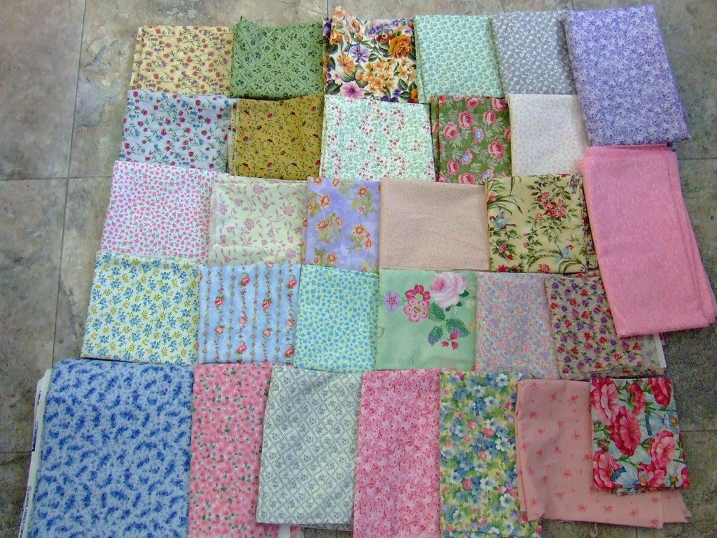 30 fabrics for the next quilt