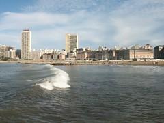 Simplemente ...Mardel (Mirilamadrid) Tags: argentina mar playa casino olas mardelplata mirilamadrid