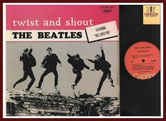 "the Beatles ""Twist and Shout"" Capitol Records Canada T 6054 lp vinyl record album"