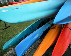 Colored Watercraft Canoes/Kayaks, Homebush Sydney (Alex E. Proimos) Tags: otw inspiredbylove anawesomeshot concordians spiritofphotography oneofmypics proimos alexproimos