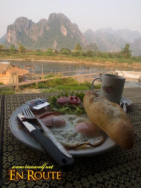 Vang Vieng Breakfast