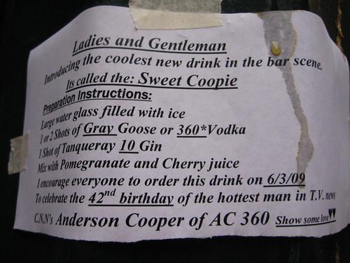 Sweet Coopie?