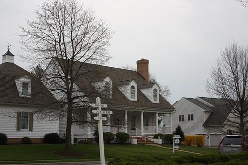 Houses in Strasburg, Pennsylvania