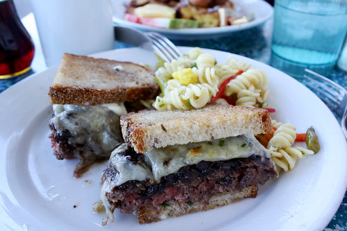 Kobe Beef Patty Melt