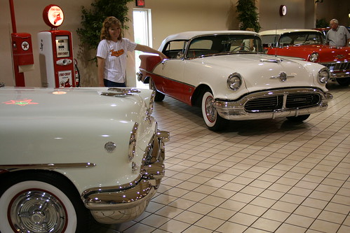 1957 Olds convertible