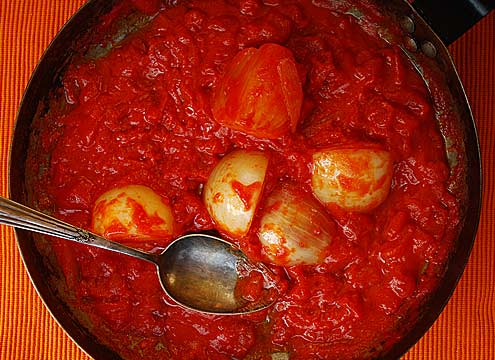 butter & tomato sauce