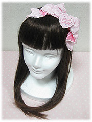 Angelic Pretty headbow (dark pink) (Lovely little pony) Tags: stock lolita angelicpretty