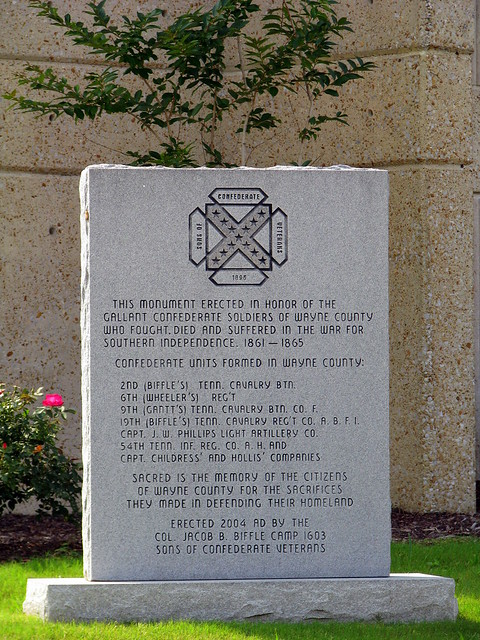 Wayne County Confederate Monument