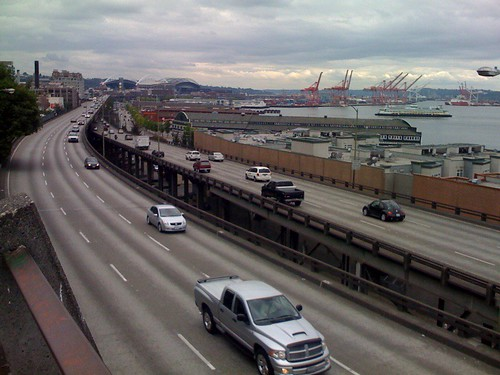seattle waterfront freeway