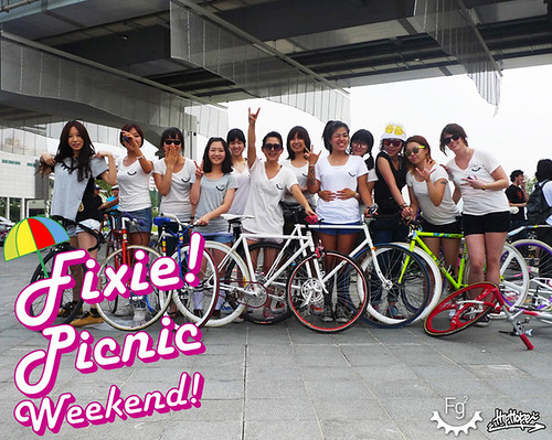 fixed gear girls