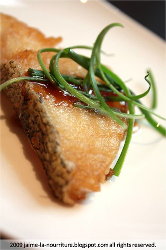 Chinese Box - Pan fried cod fish fillet in superior soy sauce