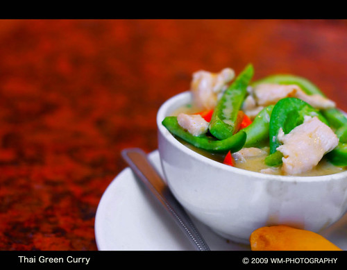Green Curry @ Papaya Hut