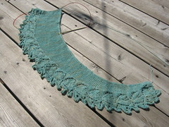 heart to heart beaded shawl