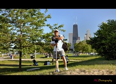 Me! (ag-chicago) Tags: park lake chicago me downtown michigan augusto illinoois agchicago