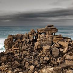 Rocks (Julio López Saguar) Tags: sea costa seascape portugal coast mar rocks waves paisaje olas rocas peniche juliolópezsaguar