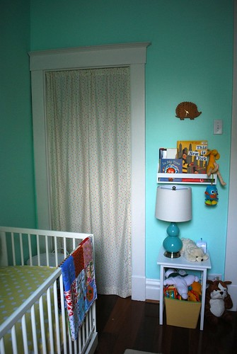 nursery curtain