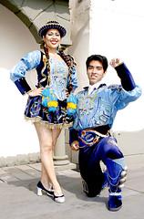 DANZA SAYA CAPORAL DE LA CIUDAD DE LIMA (Ysmael Carrion Huaman) Tags: peru lima danza sanborja tipicas